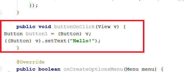 Android Code Snippet